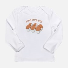 Farm Fresh Eggs Long Sleeve T-Shirt