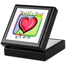 World's Best Nan Keepsake Box