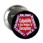 Culpability, Deception Button (100 pack)