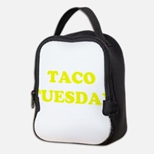 TACO TUESDAY Neoprene Lunch Bag