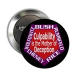 Culpability and Deception Button (10 pack)