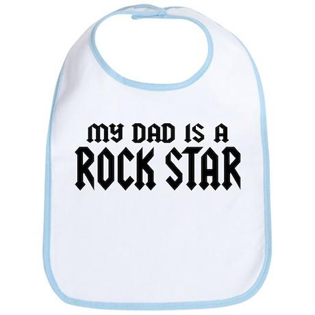 My Dad is a Rock Star Bib