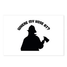 Where My Hose At? Postcards (Package of 8)