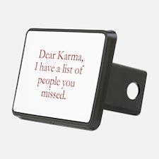 Dear Karma Hitch Cover