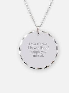 Dear Karma Necklace