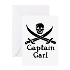 Captain Carl Greeting Cards