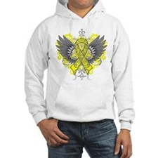 Suicide Prevention Awareness Wings Hoodie