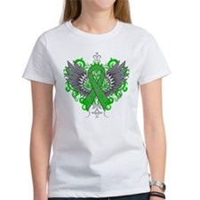 Spinal Cord Injury Awareness Wings T-Shirt