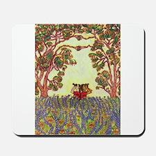 Girdners Tree Embrace Mousepad