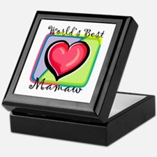 World's Best Mamaw Keepsake Box