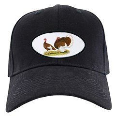 Bourbon Red Turkeys Baseball Hat