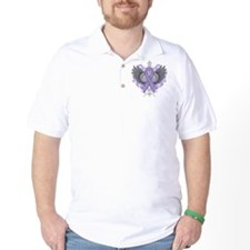 Rhett Syndrome Awareness Wings T-Shirt
