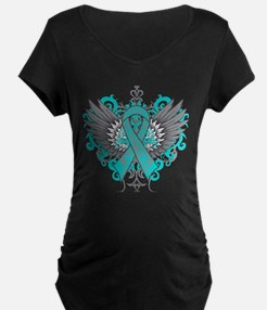 PKD Awareness Cool Wings Maternity T-Shirt