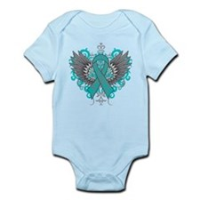 PCOS Awareness Cool Wings Body Suit