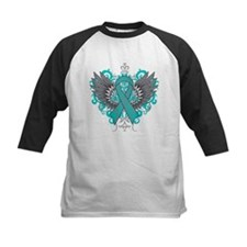 PCOS Awareness Cool Wings Baseball Jersey