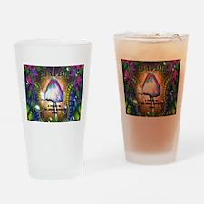Eat a Peach band logo Drinking Glass