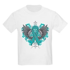 Myasthenia Gravis Awareness Wings T-Shirt