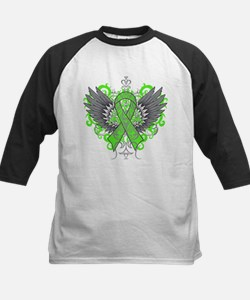 Muscular Dystrophy Awareness Wings Baseball Jersey