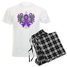 Lupus Awareness Cool Wings Pajamas