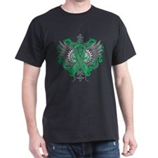Liver Disease Cool Wings T-Shirt