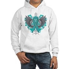 Interstitial Cystitis Awareness Cool Wings Hoodie