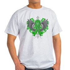 Gastroparesis Awareness Cool Wings T-Shirt