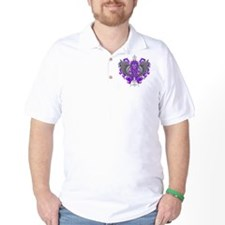 Fibromyalgia Awareness Cool Wings T-Shirt