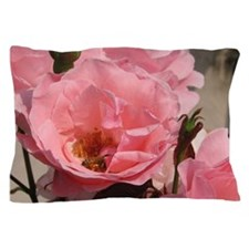 Pink Rose Pillow Case