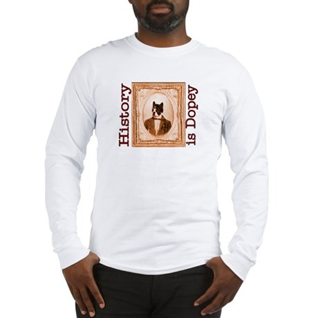 Boston Terrier RUPERT Long Sleeve T-Shirt