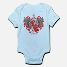 Aplastic Anemia Awareness Cool Wings Body Suit