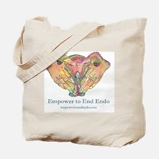 Empower to End Endo Tote Bag