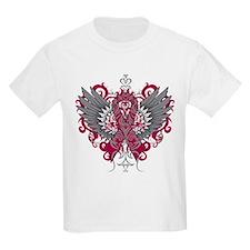 Amyloidosis Awareness Cool Wings T-Shirt
