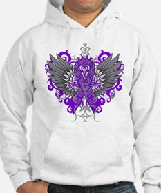 Alzheimers Disease Cool Wings Hoodie