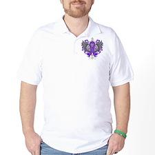 Alzheimers Disease Cool Wings T-Shirt
