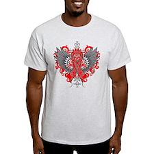 AIDS Awareness Cool Wings T-Shirt