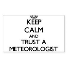 Keep Calm and Trust a Meteorologist Decal