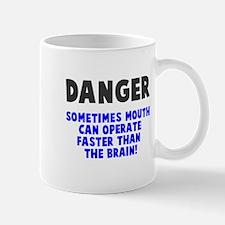 Danger mouth faster than brain Mug