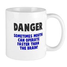 Danger mouth faster than brain Mug