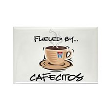 Fueled by Cafecitos Rectangle Magnet (10 pack)