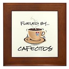 Fueled by Cafecitos Framed Tile