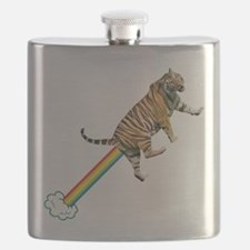 Flying Tiger Farts Rainbows Flask