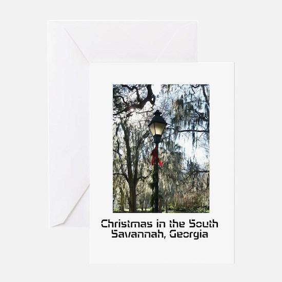 Savannah Christmas Greeting Card