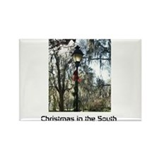 Savannah Christmas Rectangle Magnet