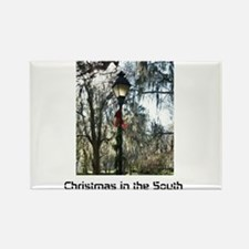 Savannah Christmas Rectangle Magnet