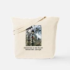 Savannah Christmas Tote Bag