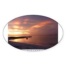 Jamaica Sunset Decal