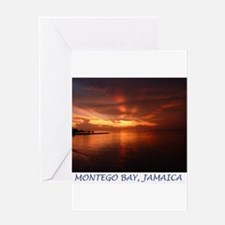 Montego Bay Sunset Greeting Card