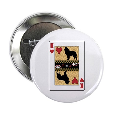 "King Sheepdog 2.25"" Button (10 pack)"