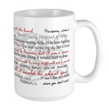 Twilight Quotes Mugs