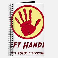 Left Handed Super Power Journal